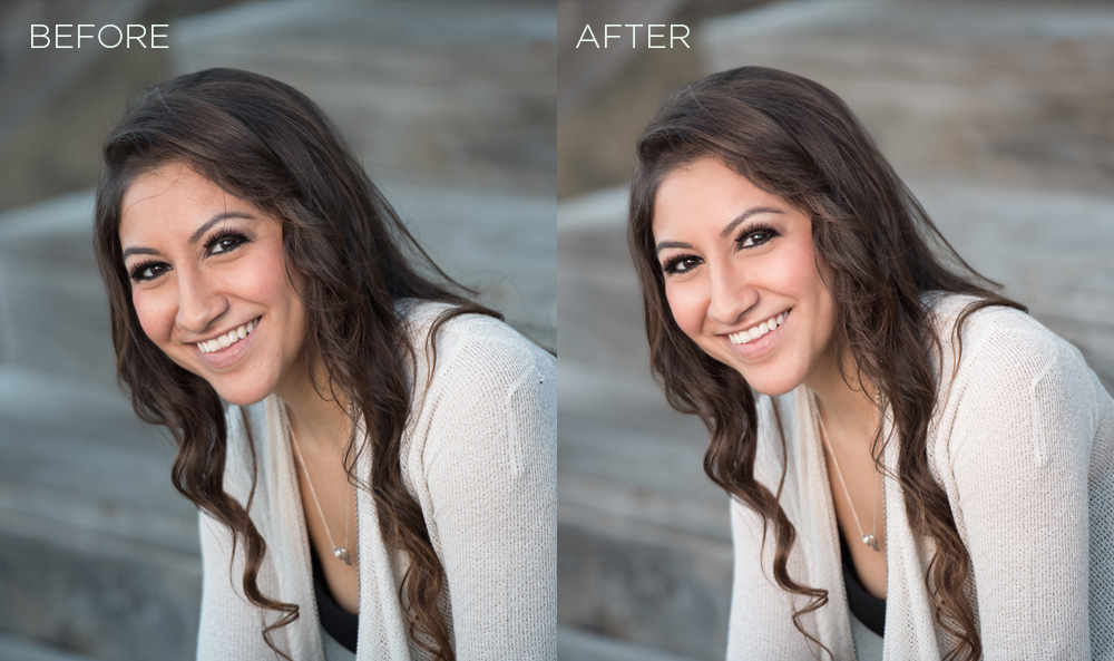 Re Retouching Example