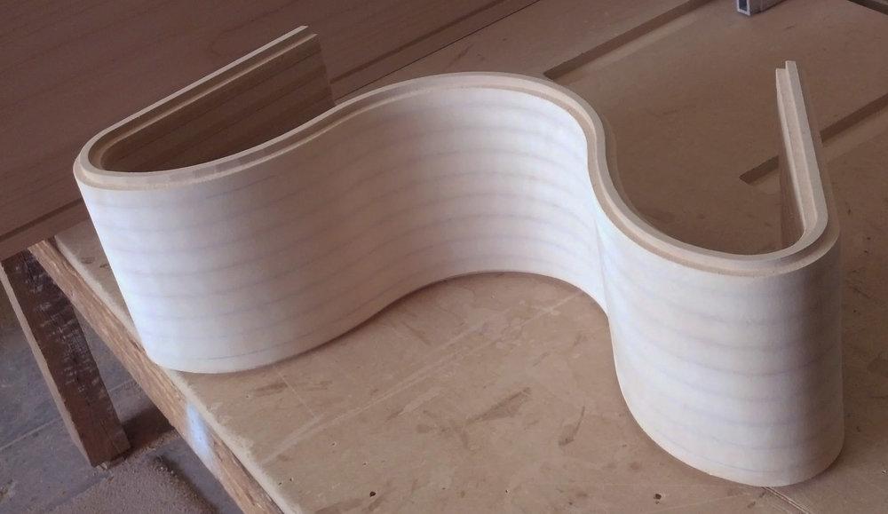 Curvy wall prototype