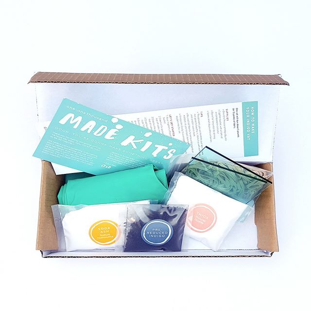 Feeling stuffed? There's no better than getting your body and your hands moving. This weekend (through Monday) we're giving our friends free shipping on all our indigo dye and weaving kits online. Click & buy for a kit that helps you make a bunch of creative gifts or is giftable all by itself. Link in bio to shop! . . . . #makersgonnamake #diykit #shibori #handdyed #handmade #becreative #buzzfeeddiy #makesomething #textiledesign #wearhandmade #thenewbohemians #instadiy #indigolove #wearethemakers #handmadeparade #createcommune #createeveryday #diycraft #shiboristyle #handmadefashion #craftkit #tiedye #creativelifehappylife #thehandmadetribe #handmadelove #abmlifeiscrafty #craftsposure #makerslife #craft #handmadelife