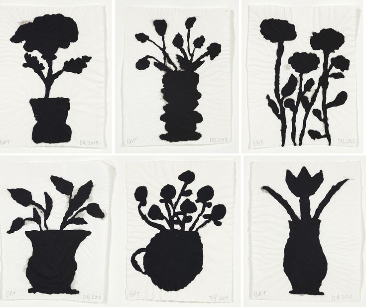 Donald Baechler Flower Pot prints