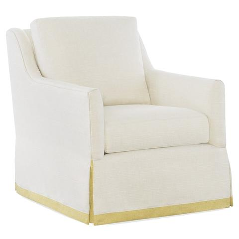 LoHome's  Ann Lounge chair with Daffodil band $1430