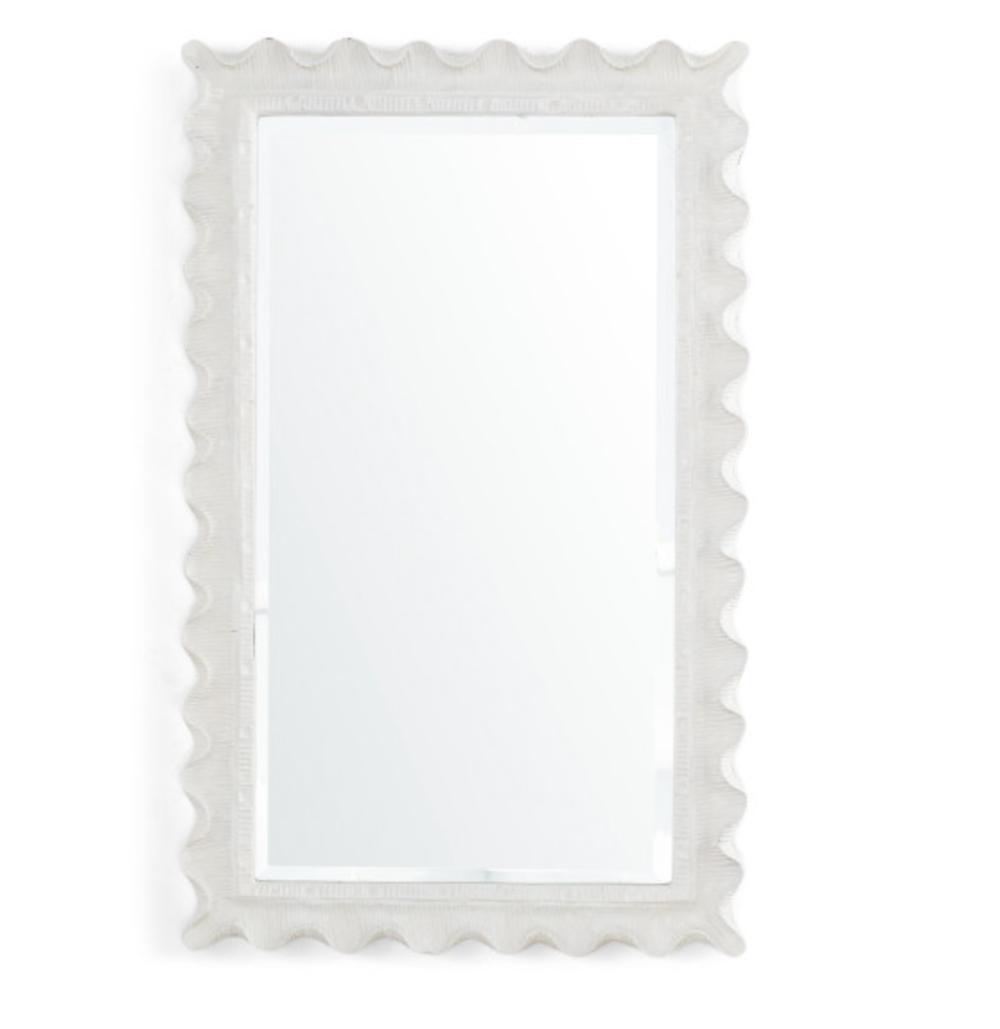 Wisteria's  Scalloped Edge Mirror  for $249