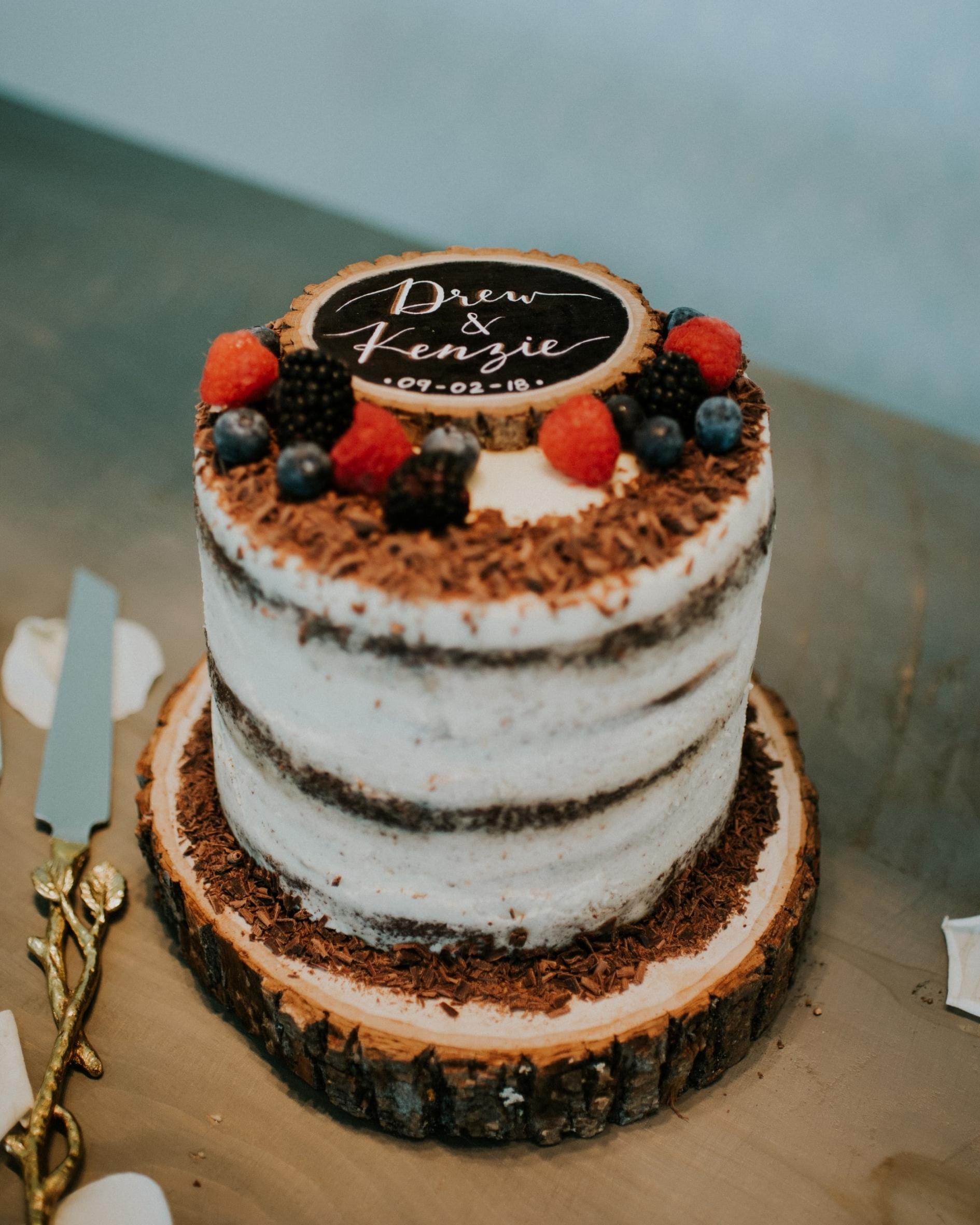 The Ultimate Chocolate Cheesecake Wedding Cake Kenzie S Home