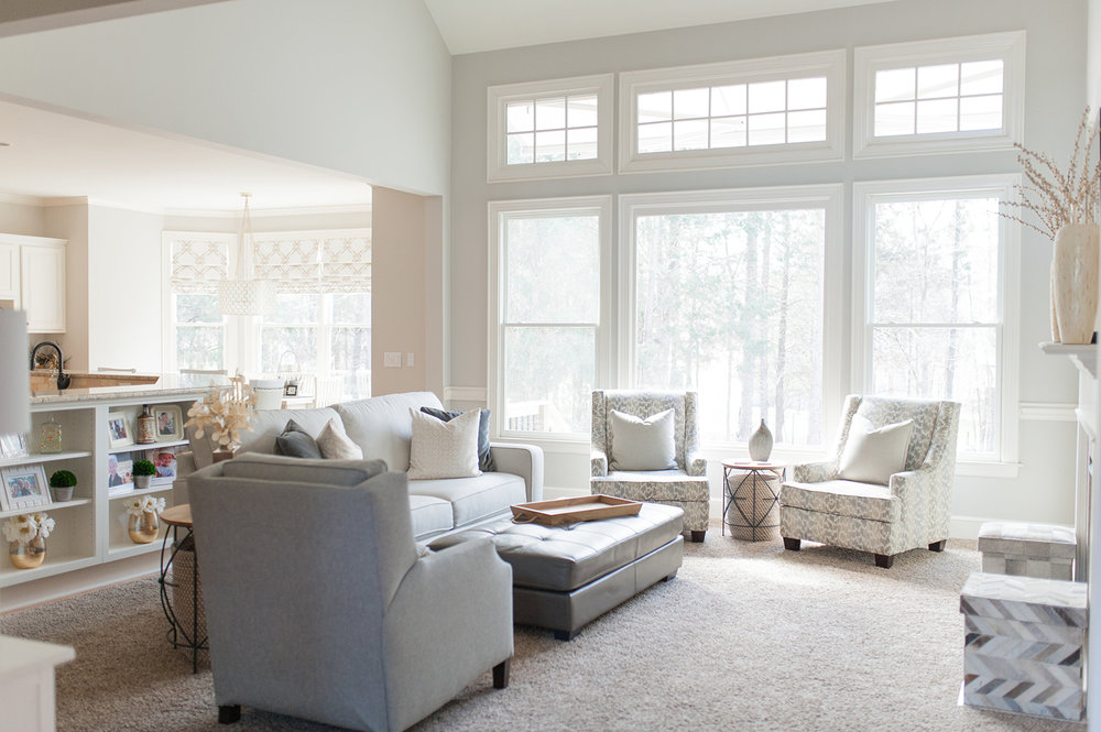 Woodmont Casually Elegant Family Room