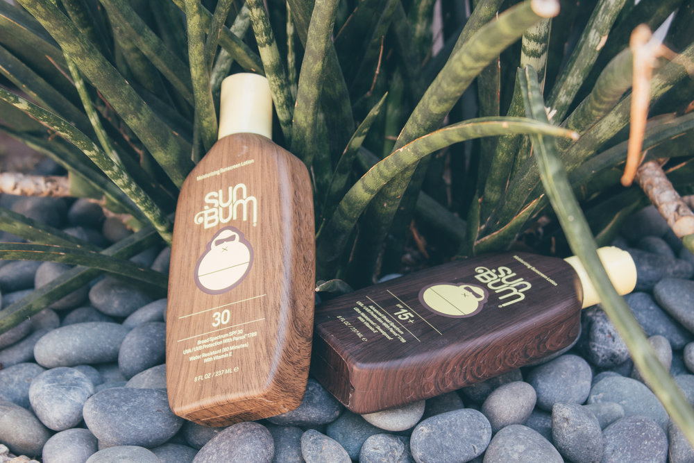 SUN BUM - For the body, we recommend Sun Bum. SPF: 15, 30, 50 & 70