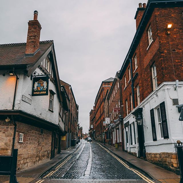 Beautiful streets of York, England