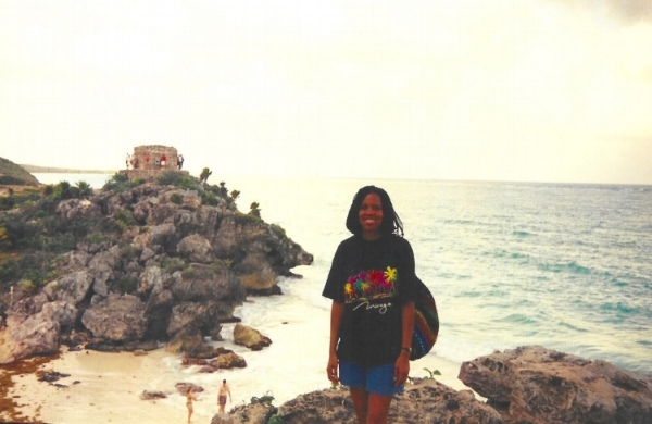 My first international solo adventure to the Mayan ruins of Tulum in Riviera Maya, Mexico (who is this kid?!)