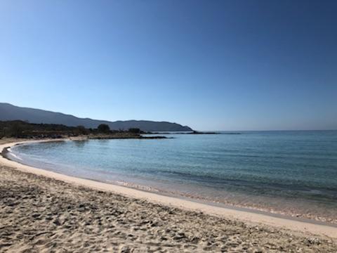 Elafonisi Beach in Crete.