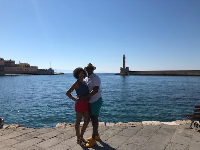 My husband and I loved Crete.