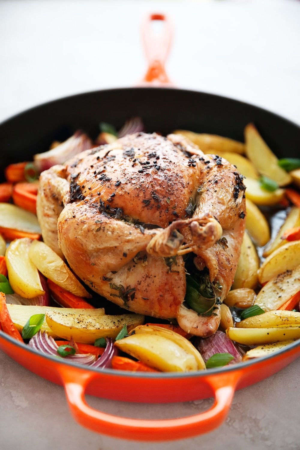 Roasted Chicken Dinner from  Lexi's Clean Kitchen