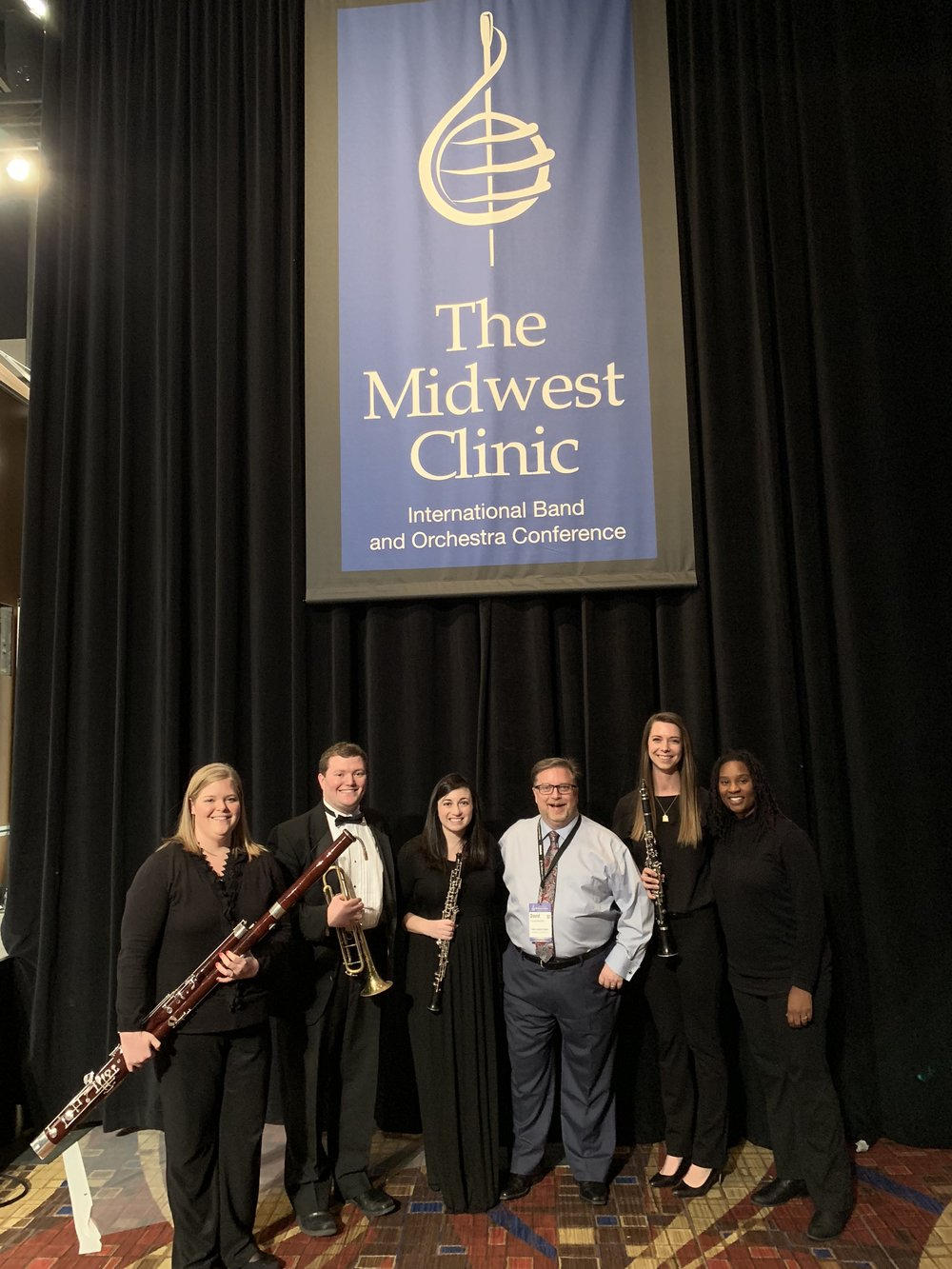 Mr. Soloff at the Midwest Clinic!