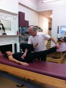 Alan using MET for release of my Iliotibial band