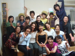 Taken in 2010 after completing a workshop, as you can see we love what we do and have fun along the way!