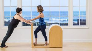 front support pilates for bigger abundant bodies by madeine black