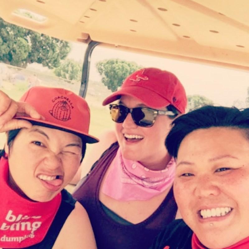 Dearest & Darling and bling bling dumpling at Coachella!