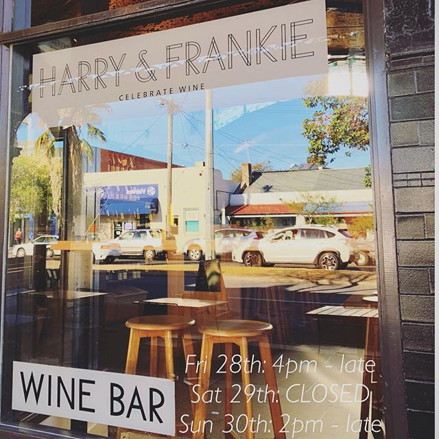 Opening hours this weekend... 🏈 🏆  #grandfinal #publicholiday #harryandfrankie