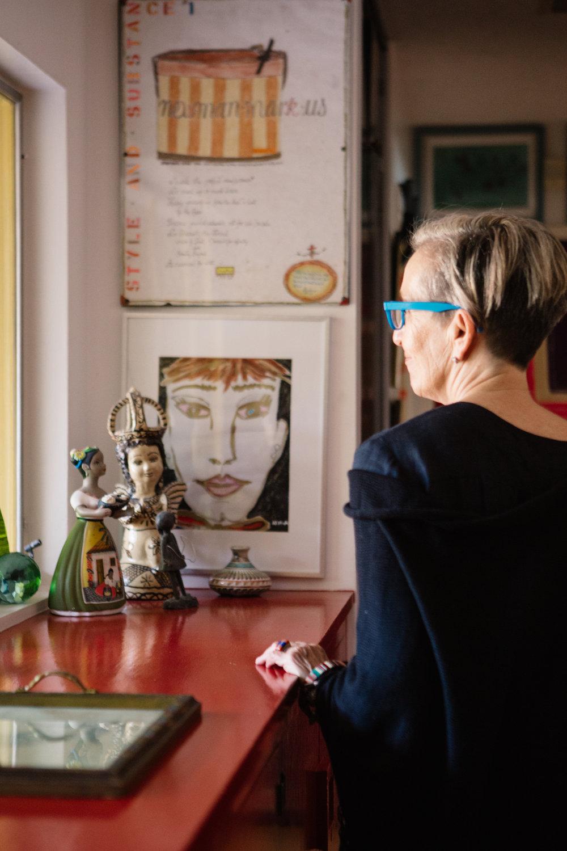 Quilt Woman Series Nancy Allen Artist