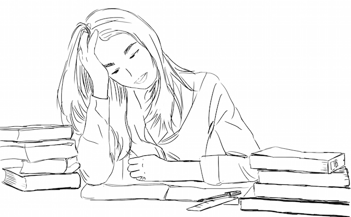 Sometimes just the thought of studying for exams will often lead us to anxiety, exhaustion, feelings of jadedness