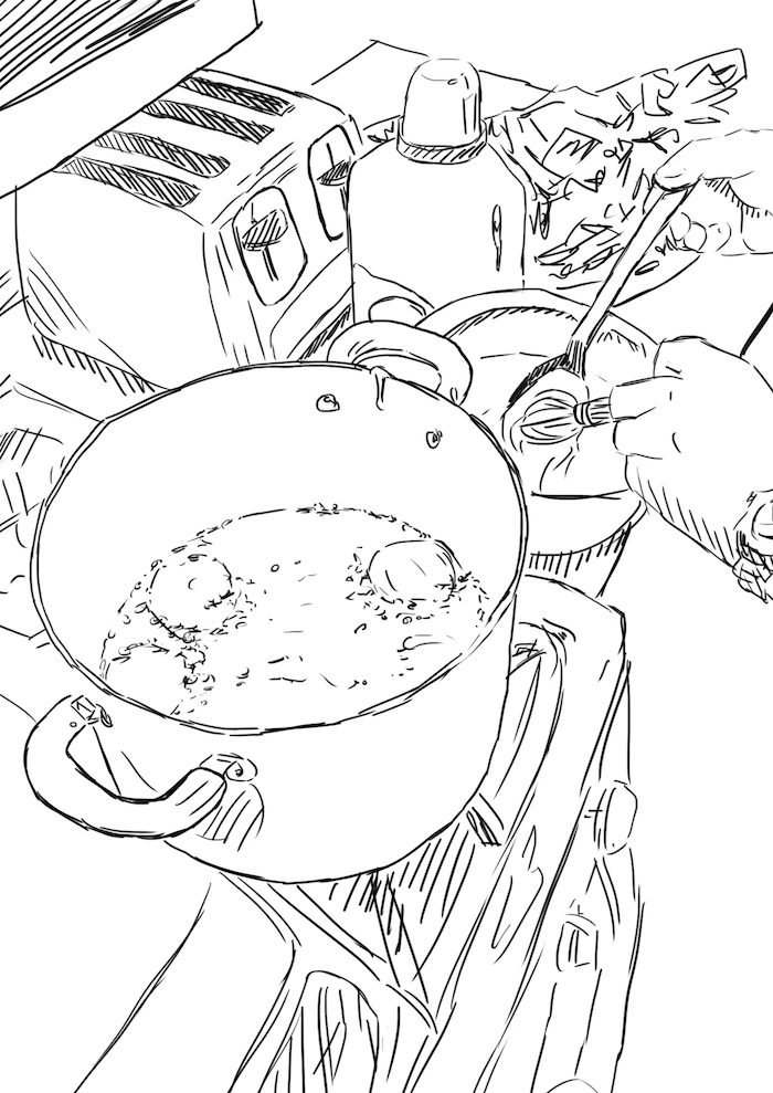 Mmmm frying oreos