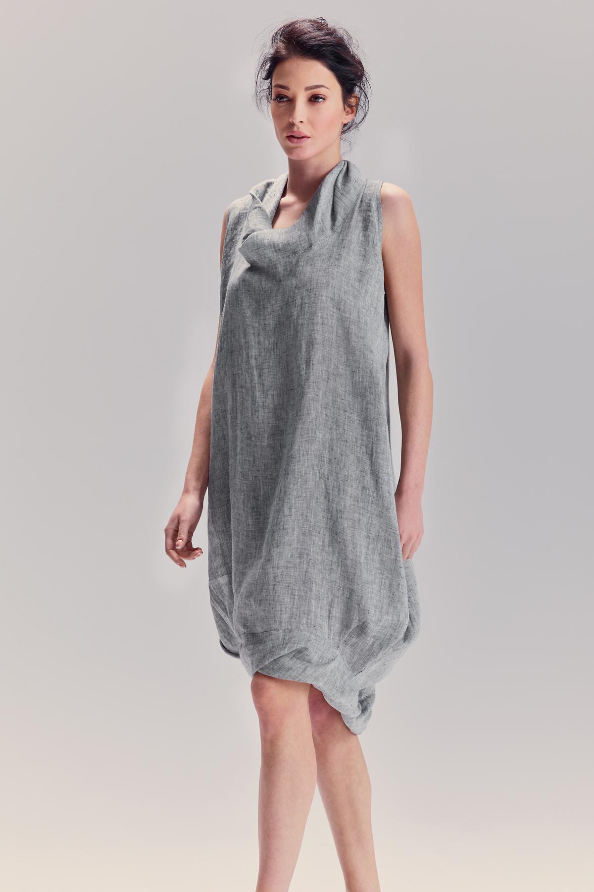 ca691bf7fa4 Light Grey Cocktail Dress - Data Dynamic AG