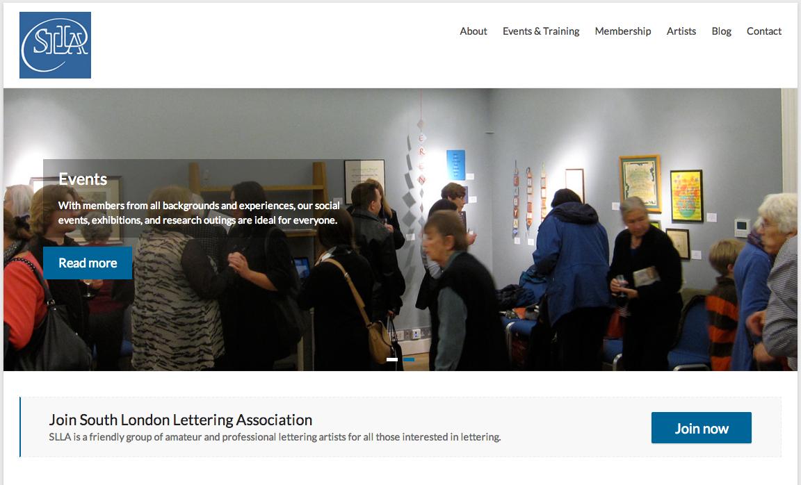 SLLA new website