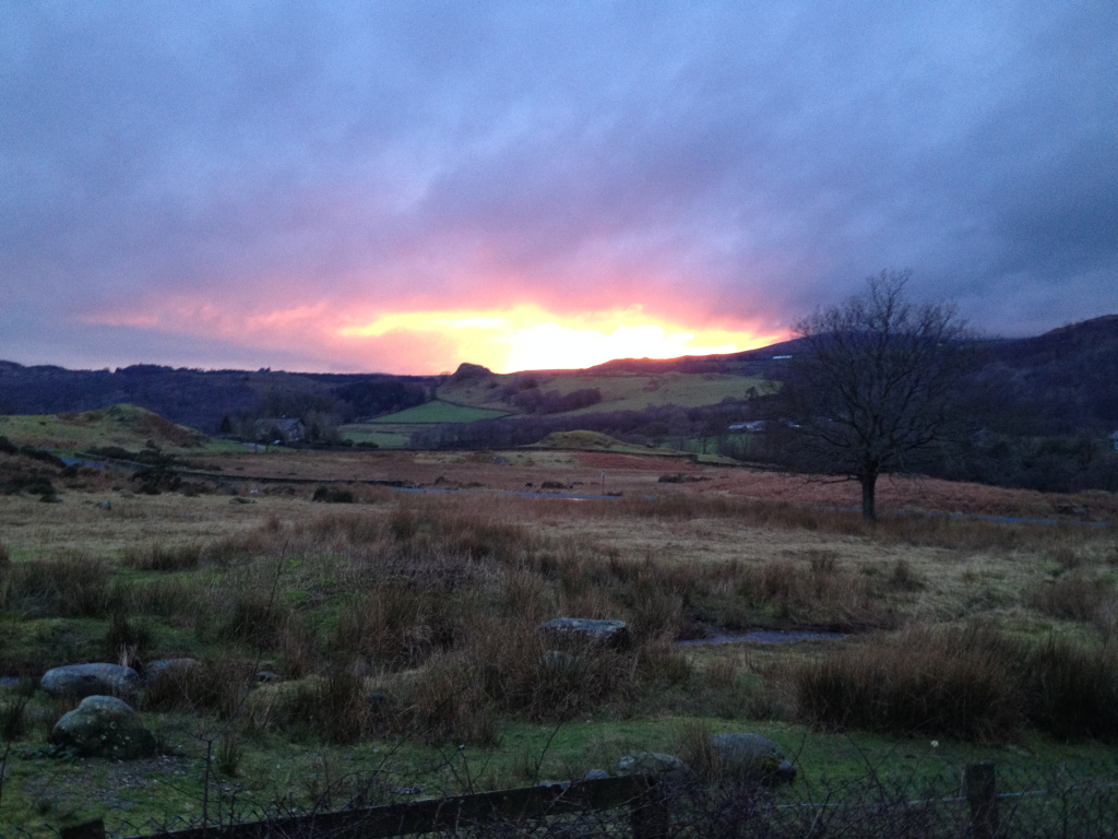 Learn calligraphy in the Lake District