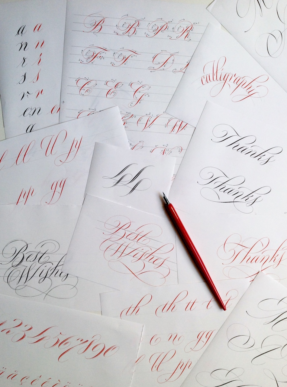 Rachel Yallop copperplate manual