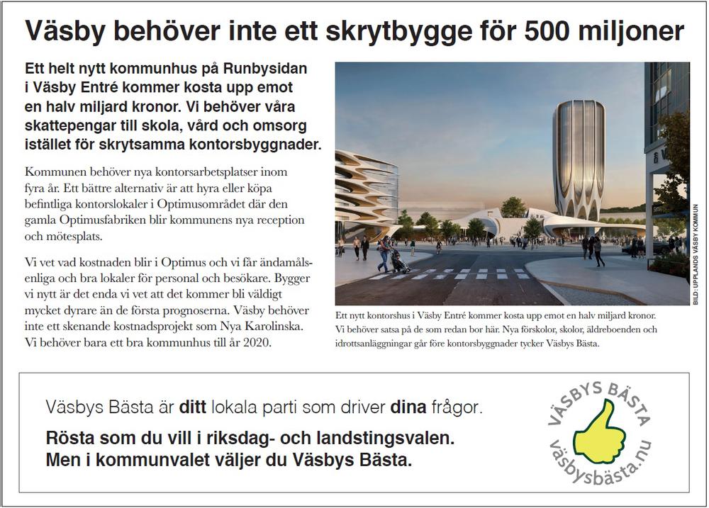 Annons Väsby behöver inte ett skrytbygge.png