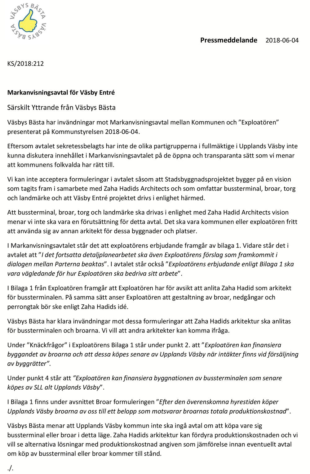 2018-06-04 Pressmeddelande Yttrande Markanvisning kopiera.png
