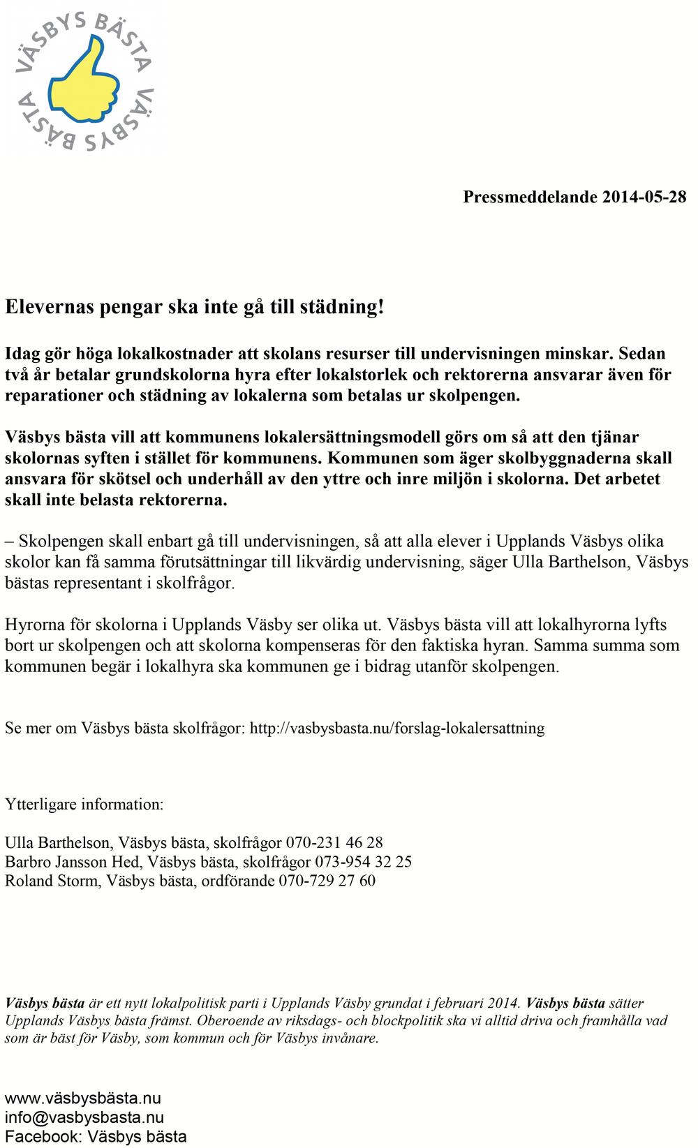 2014-05-28 Pressmeddelande Elevernas pengar skall inte ga till stadning.png