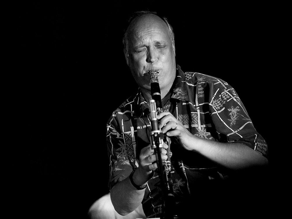 Antti Sarpila playing at Korpo Sea Jazz 2015. Photo: Olli Sulin