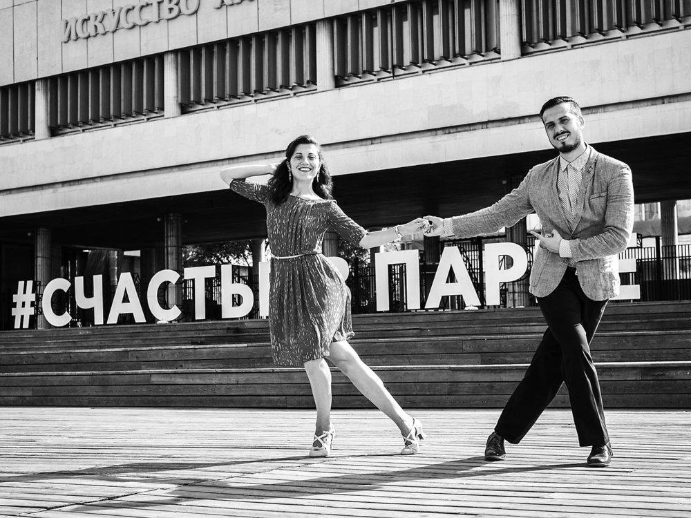 Marina Alekseeva and Alexander Tabakov