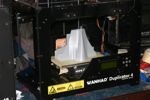 SR-72 print on the Wanhao Duplicator 4