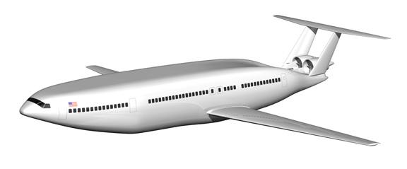 The plane render (Don Foley)