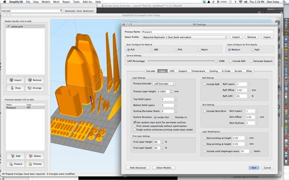 Simplify 3D user interface (Don Foley)