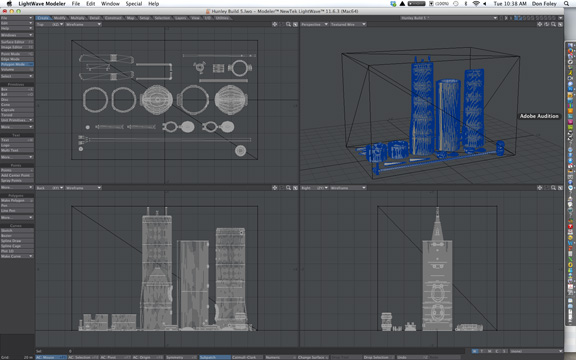 A screen capture of the virtual build volume