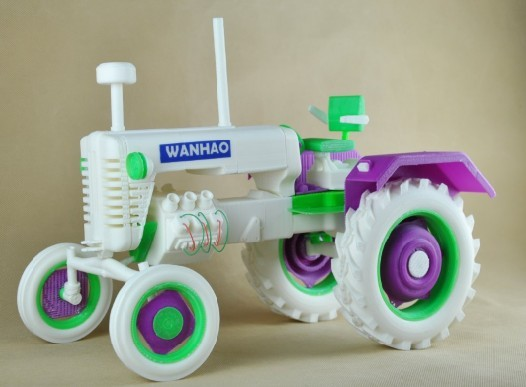finished tractor