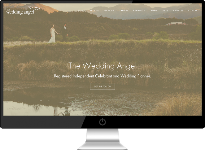 The Wedding Angel (aka Belinda de Lautour) is a Registered Celebrant and Wedding Planner who is dedicated to taking the time to understand your specific needs, to help plan the wedding of your dreams and ensure your day is one you will cherish for years to come.
