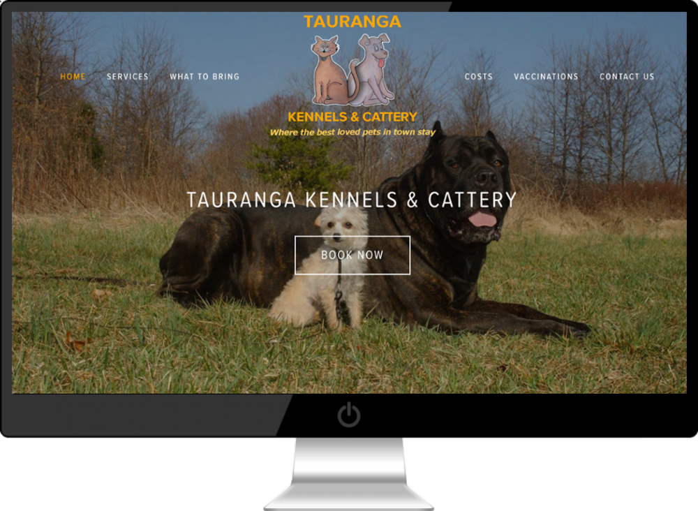 Latest Website Build - Meet the latest addition to the Small Business Websites family; Tauranga Kennels & Cattery has been servicing the Bay of Plenty region in excess of 40 years. Providing a home away from home in large spacious purpose built facilities set in park like grounds.> more small business websites