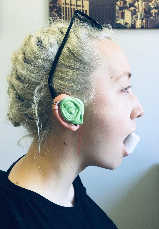 custom ear plugs, ear impression