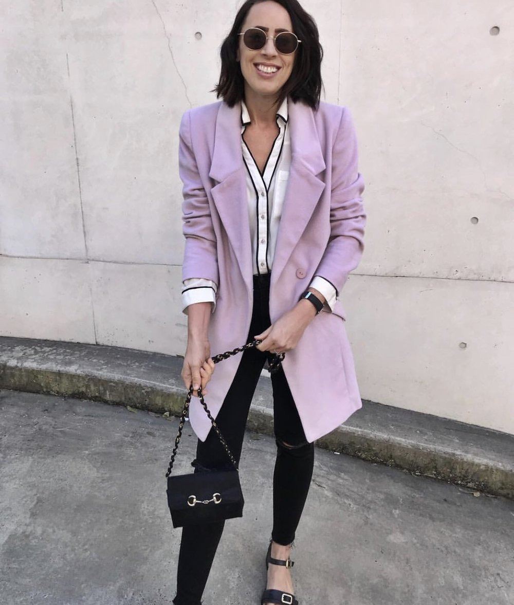 This $20 blazer is one of Hannah's favourite finds.