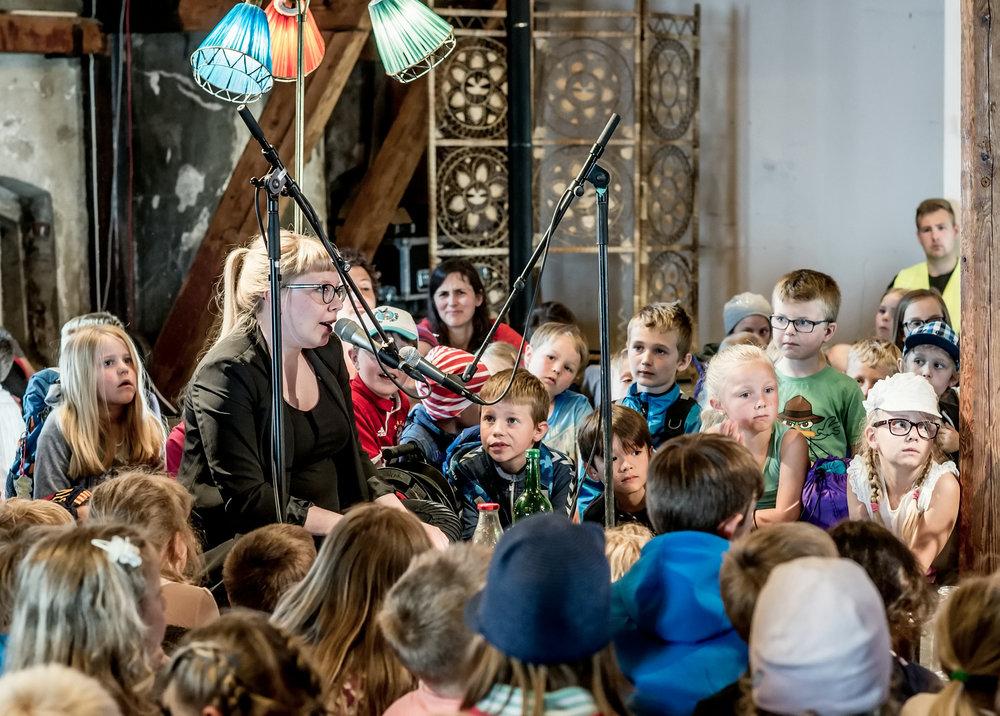 Fra DKS-festivalen Inn i varmen. Foto: Lars Opstad/ Kulturtanken