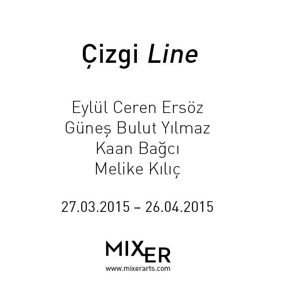Line    (2015)   Line is one of the most important inventions of the history of civilization. It is the main constituent of written communication and artistic expression.  Line, which can be seen as an action on a platform, is shaped with the relationship a draftsman builds with the surface. Its boundaries are therefore determined and it eventually evolves into a form. In this context, power of the line turns into a visual memory within historical process, depending on both the cultural environment and the person who draws it.