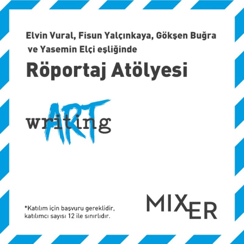 ArtWriting Turkey: Interview Workshop