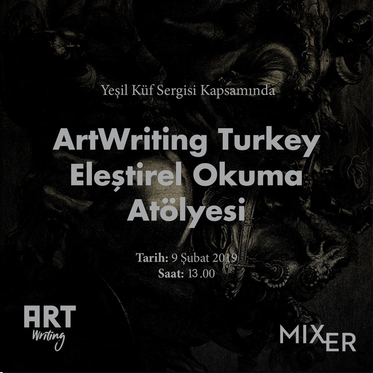 Art Writing Turkey : Critical Reading Workshop