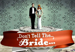 Logo from BBC Three programme 'Don't Tell The Bride'