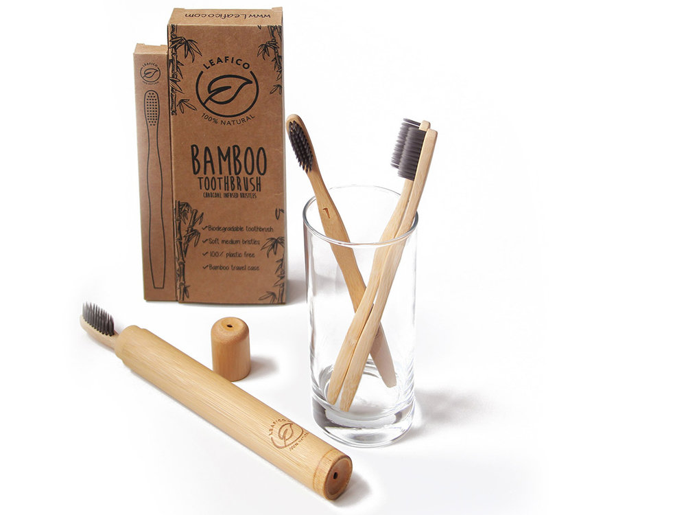 USEFULNESS - You will love the whole concept of vegan, organic and 100% environmentally friendly bamboo toothbrushes. A great value for such a soft and comfortable medium BPA free bristles and you will find them aesthetically pleasing to your hand and eye. The toothbrush handle, bristles, and packaging are all biodegradable unlike the plastic landfill promoting plastic toothbrushes