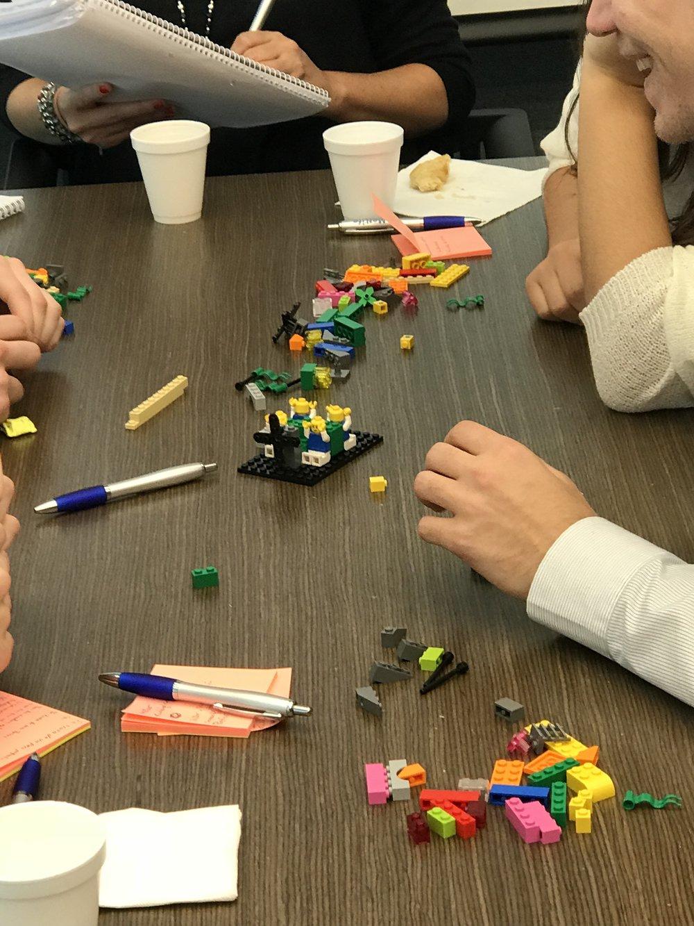 Customer Experience con LEGO® SERIOUS PLAY®