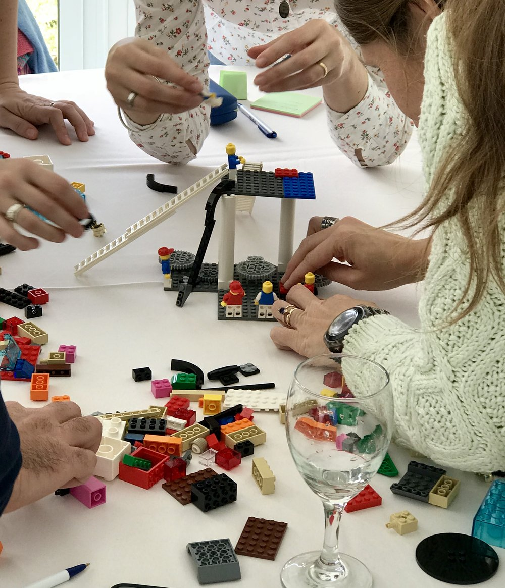 Customer Experience con LEGO® SERIOUS PLAY®
