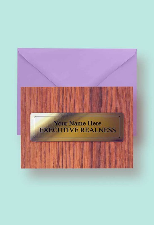 Yas queen executive realness personalised sign greetings card executive realness personalised sign greetings card m4hsunfo